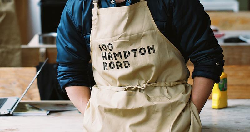100 Hampton Rd apron