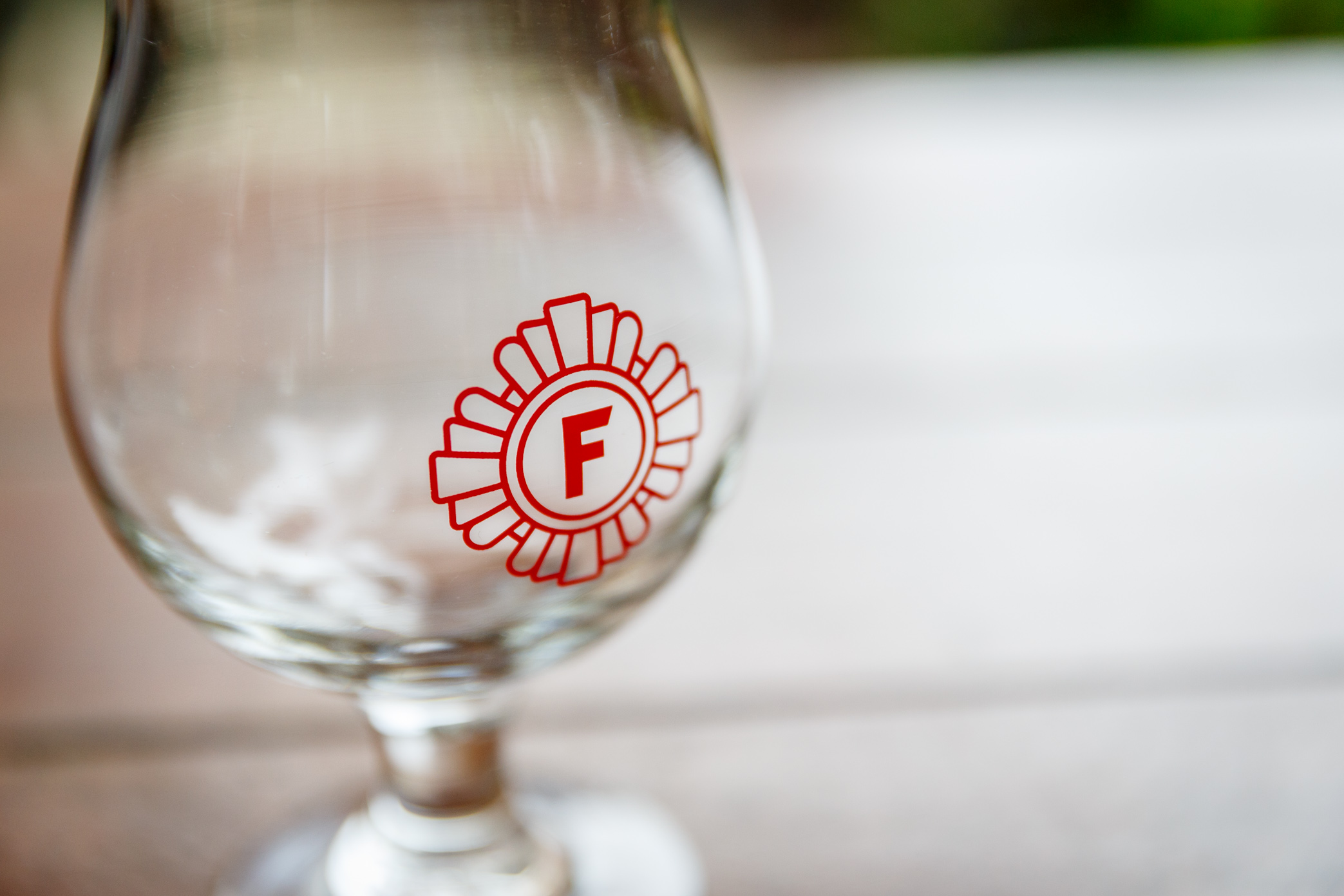 Fire Station beer glass