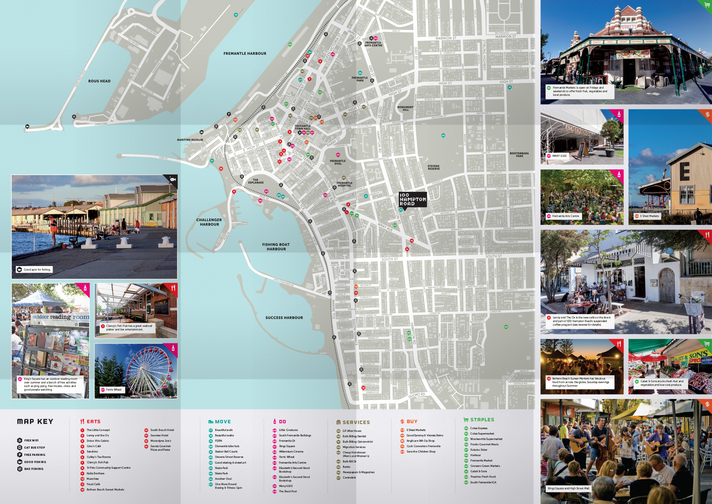 100 Hampton Rd map